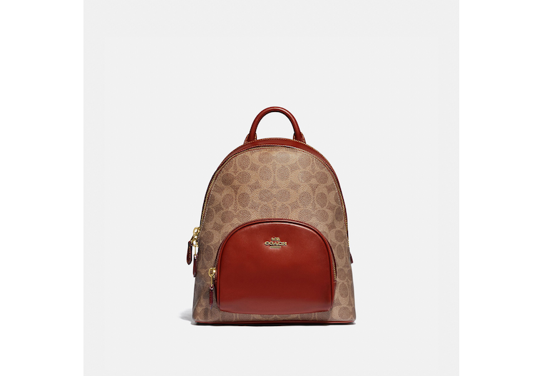 Carrie Backpack 23 In Signature Canvas image number 0