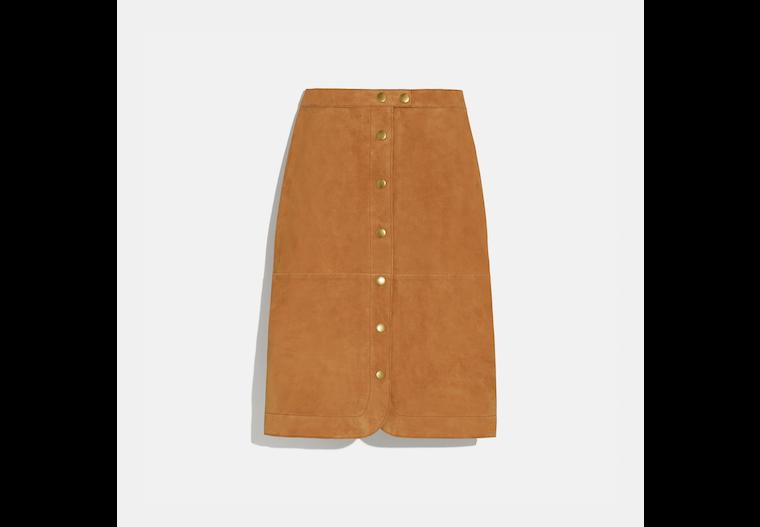 Suede Skirt image number 0