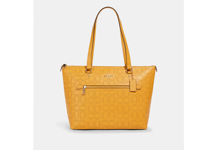 Gallery Tote In Signature Leather image number 0