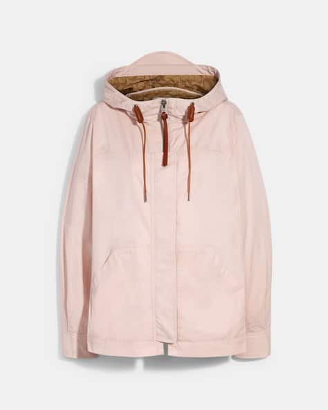 Solid Short Jacket With Signature