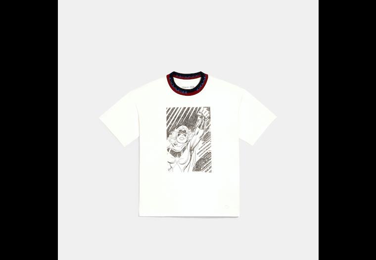 Coach │ T-shirt à col rond Marvel image number 0