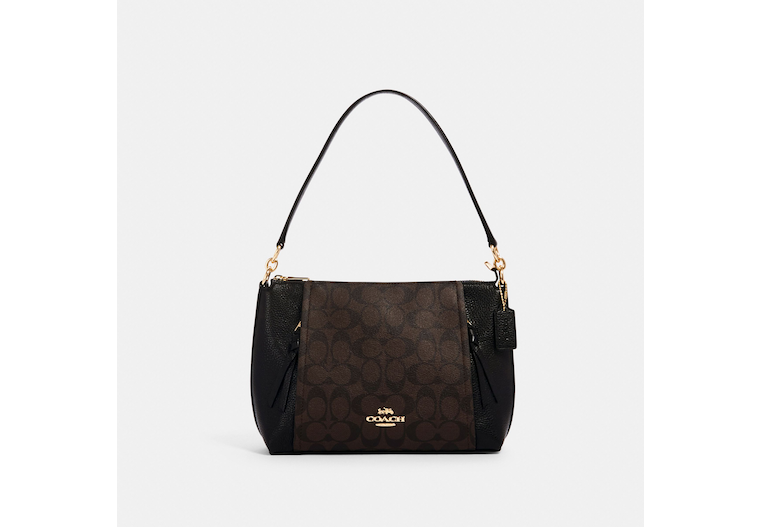 Small Marlon Shoulder Bag In Signature Canvas image number 0