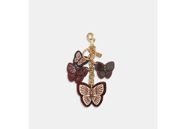 Butterfly Cluster Bag Charm image number 0