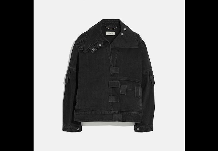 Multi Tab Denim Jacket image number 0