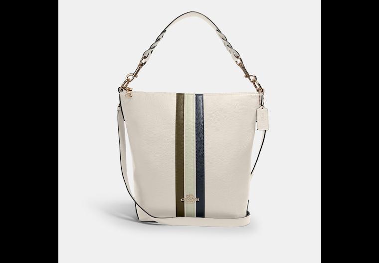 Abby Shoulder Bag With Varsity Stripe image number 0