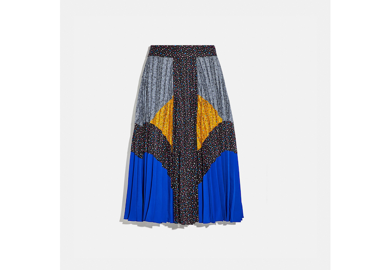Mix Pleated Skirt image number 0
