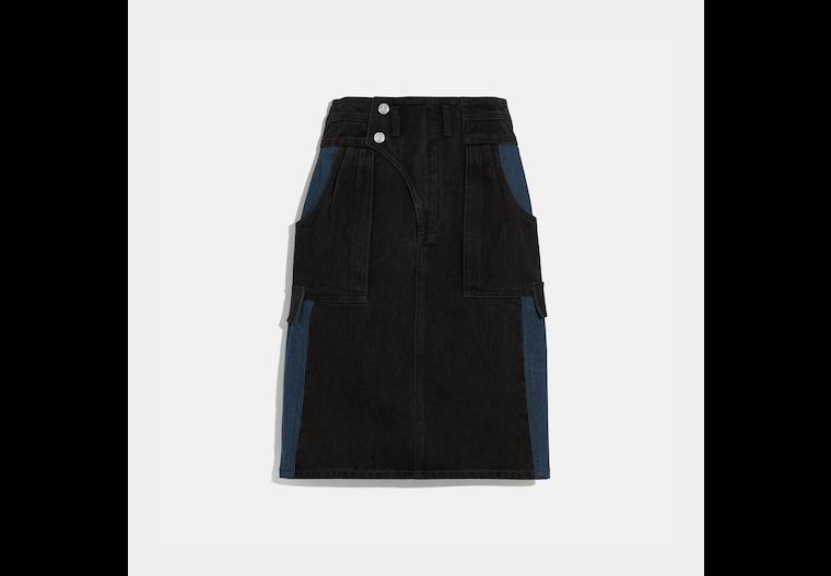Denim Skirt image number 0