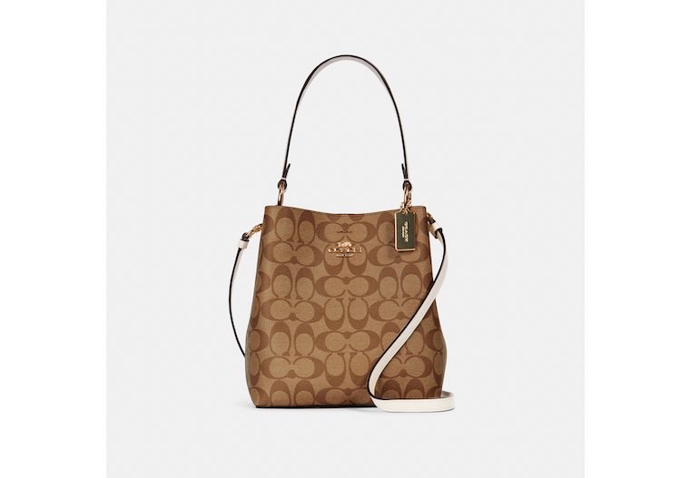 Small Town Bucket Bag In Signature Canvas image number 0