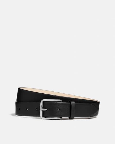 Harness Buckle Dress Belt, 32 Mm