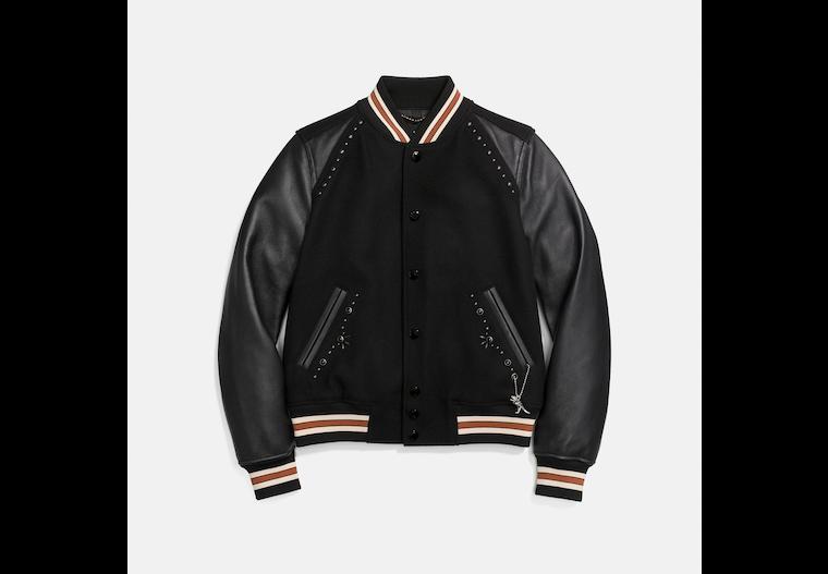Embellished Varsity Jacket image number 0