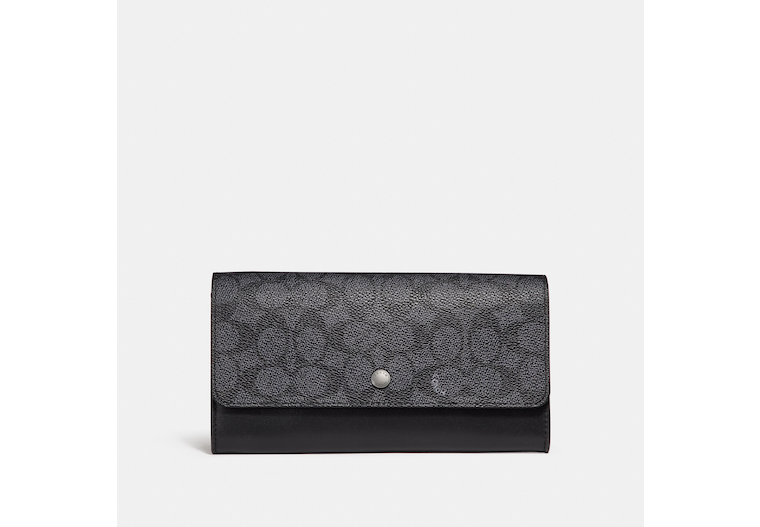 Multifunctional Wallet In Signature Canvas image number 0