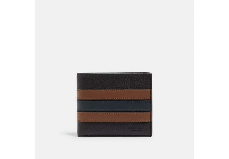 3 In 1 Wallet With Varsity Stripe image number 0