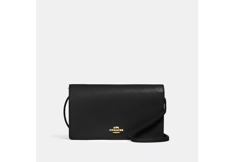 Anna Foldover Crossbody Clutch image number 0