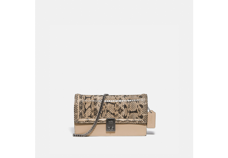 Hutton Clutch In Snakeskin image number 0
