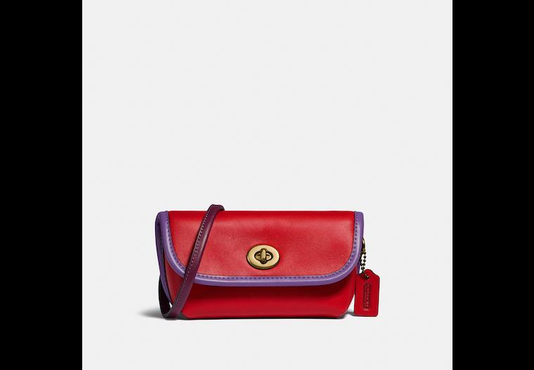 Turnlock Flare Belt Bag In Colorblock image number 0