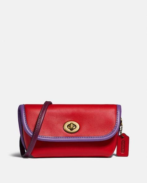 Turnlock Flare Belt Bag In Colorblock