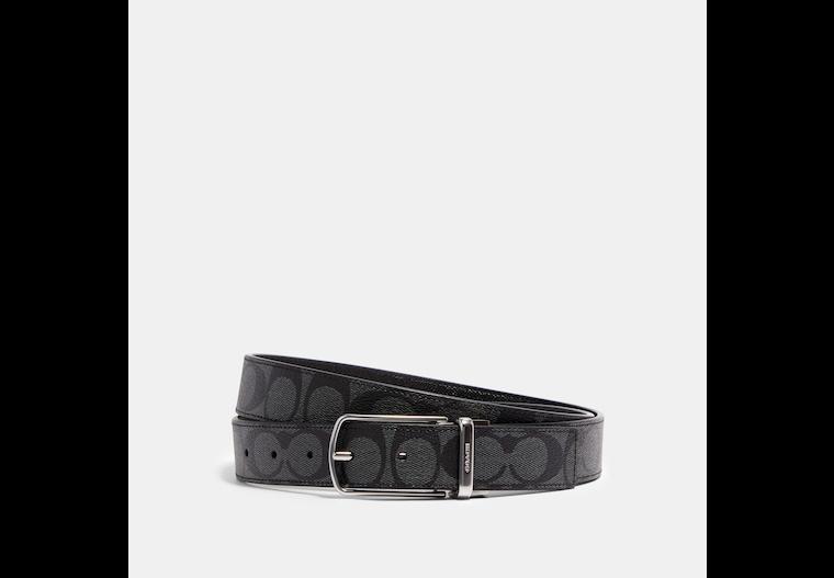 Skinny Buckle Cut To Size Reversible Dress Belt, 32 Mm image number 0