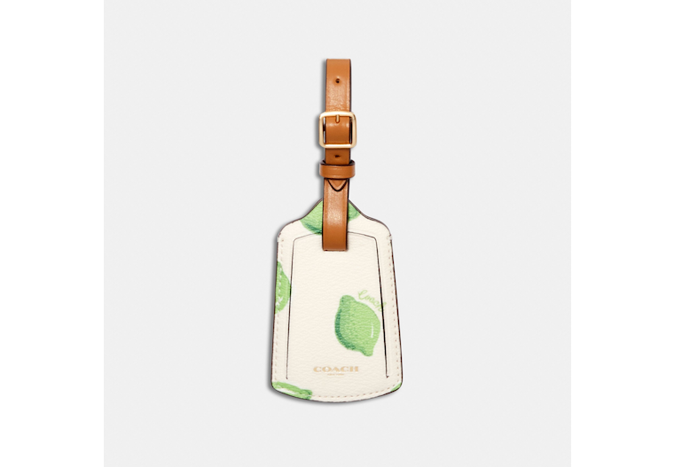 Luggage Tag With Lime Print image number 0