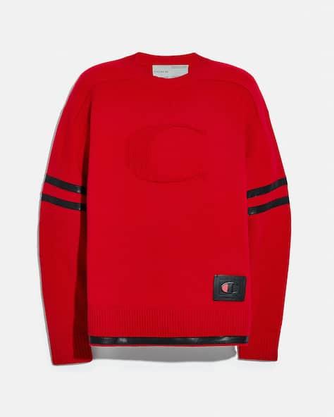 Coach X Champion Football Sweater