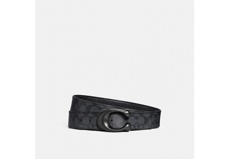 Signature Buckle Cut To Size Reversible Belt, 38 Mm image number 0