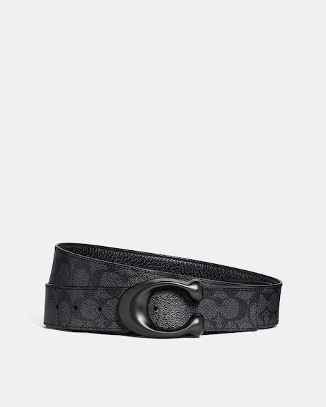 Signature Buckle Cut To Size Reversible Belt, 38 Mm