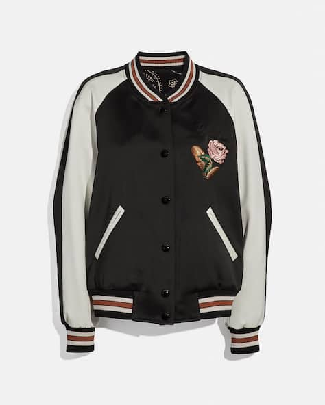 Reversible Varsity Jacket