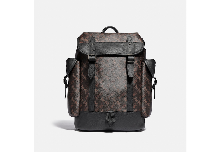 Hitch Backpack With Horse And Carriage Print image number 0