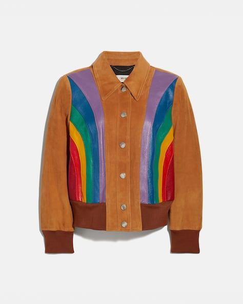 Rainbow Blouson Jacket