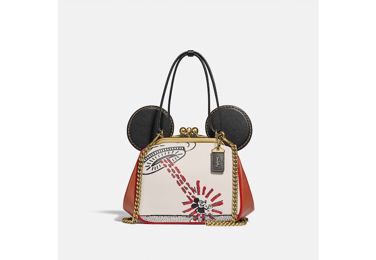 Disney Mickey Mouse X Keith Haring Kisslock Bag image number 0
