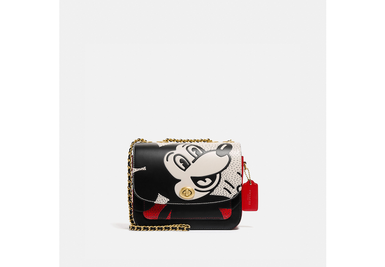Disney Mickey Mouse X Keith Haring Madison Shoulder Bag 19 image number 0