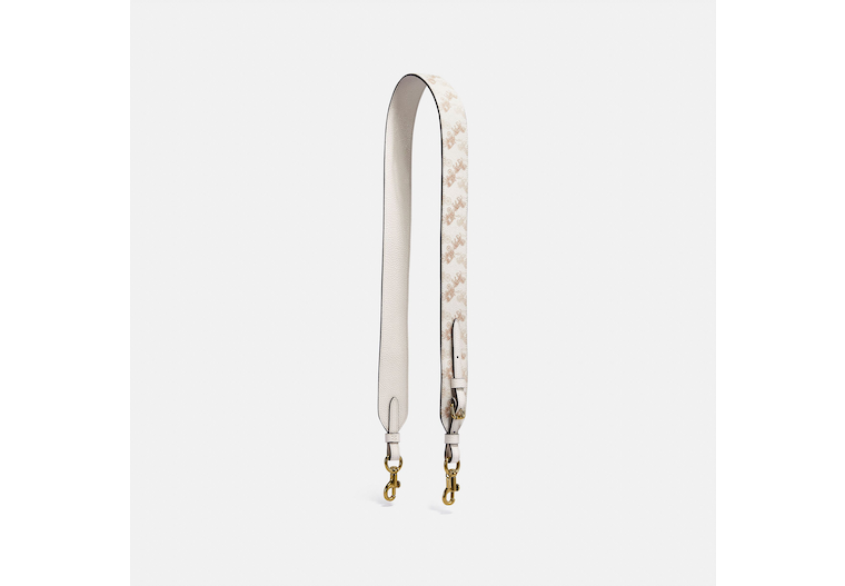 Strap With Horse And Carriage Print image number 0