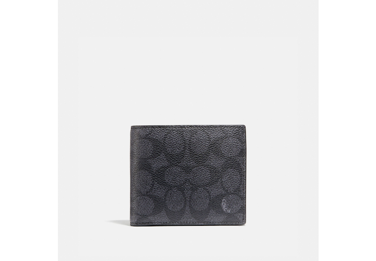 Coin Wallet In Signature Canvas image number 0
