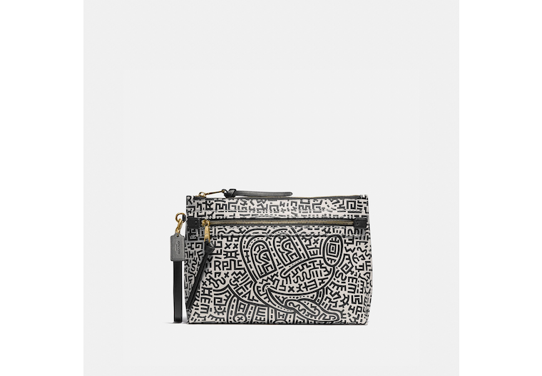 Disney Mickey Mouse X Keith Haring Academy Pouch image number 0