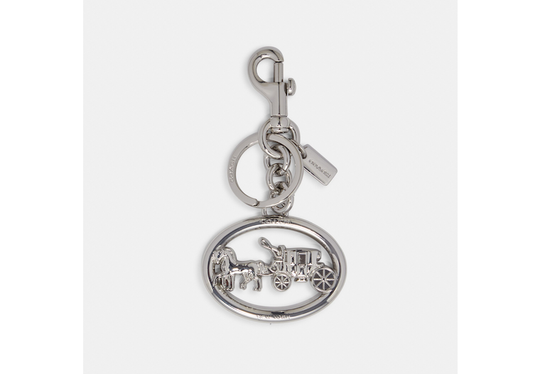 Horse And Carriage Bag Charm image number 0