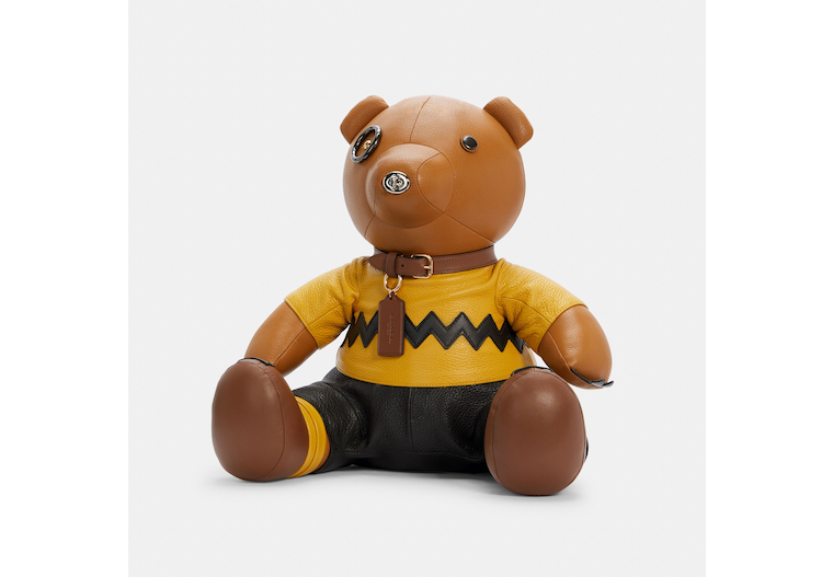 Coach X Peanuts Charlie Brown Bear Collectible image number 0