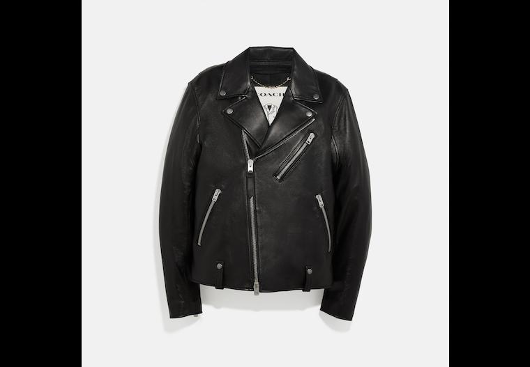 Leather Moto Jacket image number 0