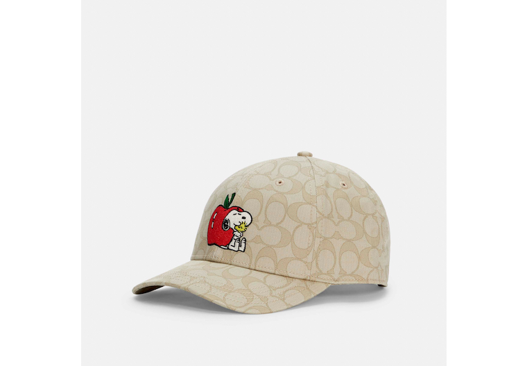 Coach X Peanuts Snoopy Signature Hat image number 0