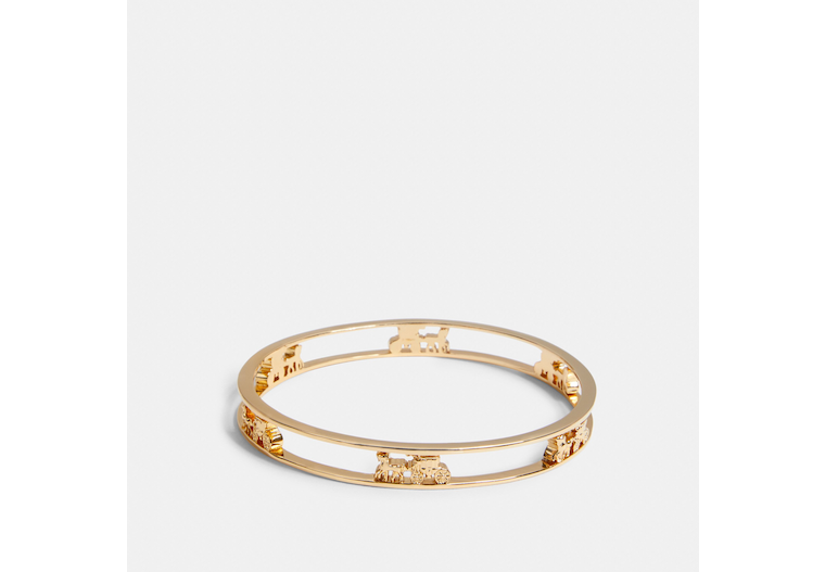 Horse And Carriage Bangle image number 0