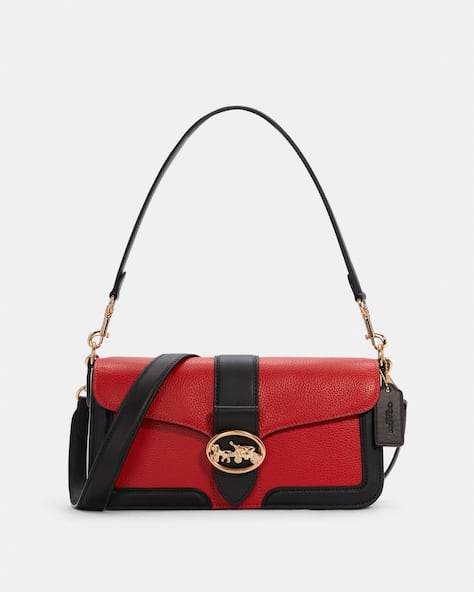Georgie Shoulder Bag In Colorblock