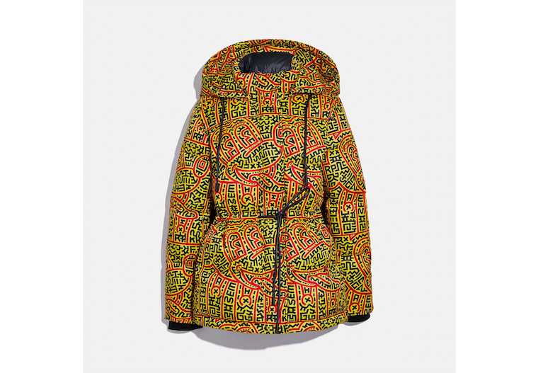 Disney Mickey Mouse X Keith Haring Woven Puffer image number 0