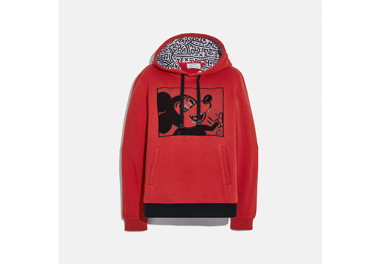 Disney Mickey Mouse X Keith Haring Hoodie image number 0