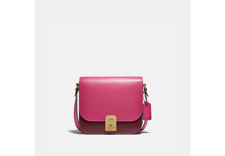 Hutton Saddle Bag In Colorblock image number 0