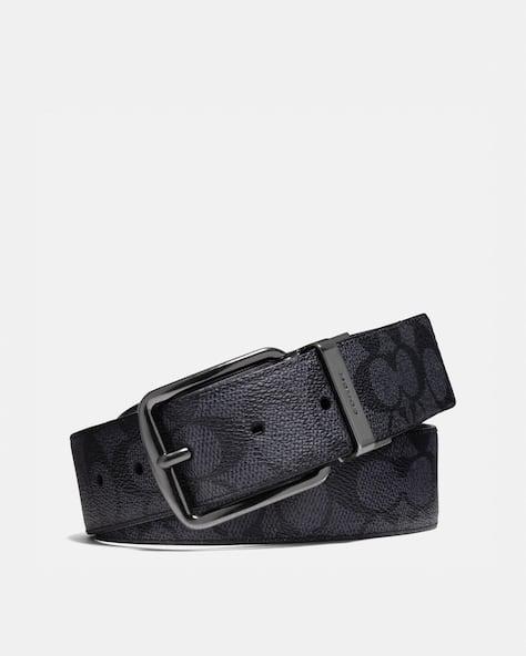 Harness Buckle Cut To Size Reversible Belt, 38 Mm