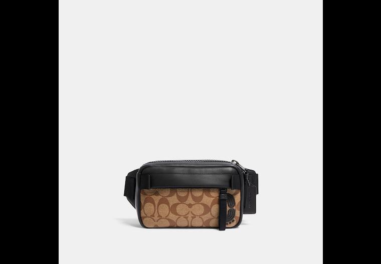 Mini Edge Belt Bag In Signature Canvas image number 0