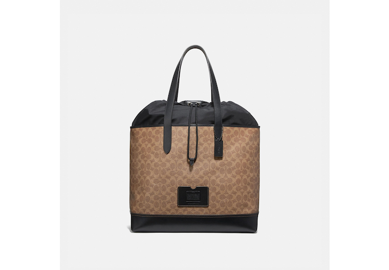Academy Travel Tote In Signature Canvas image number 0