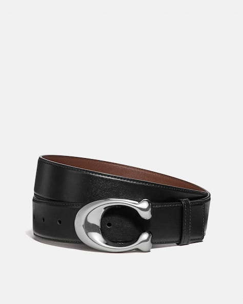 Signature Buckle Cut To Size Dress Belt, 38 Mm