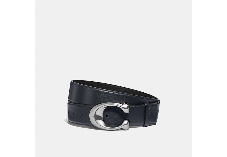 Signature Buckle Cut To Size Dress Belt, 38 Mm image number 0