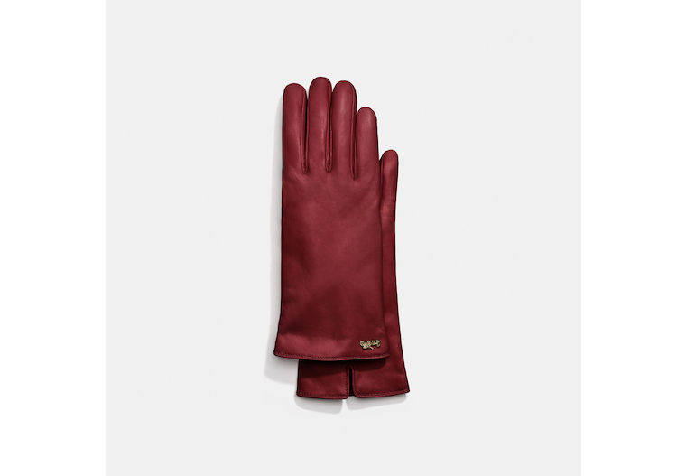 Horse And Carriage Leather Tech Gloves image number 0