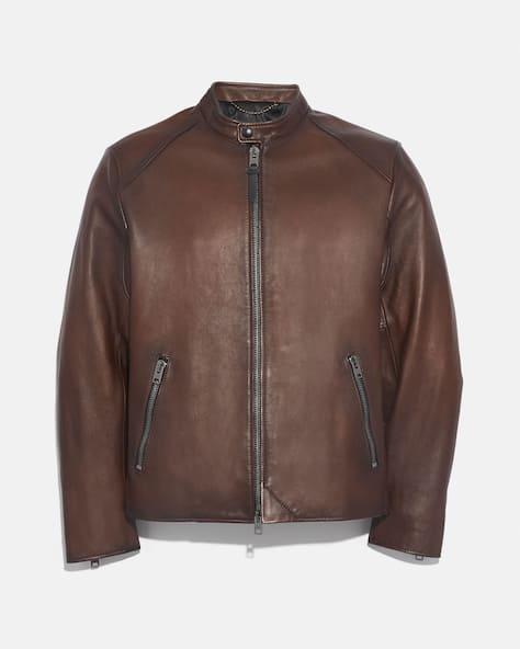 Leather Racer Jacket