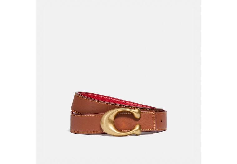 Signature Buckle Reversible Belt, 32 Mm image number 0